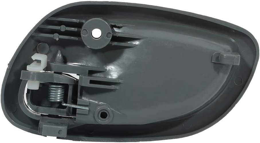 ECCPP Door Handles Interior Inside Inner Driver Passenger Side for 1999-2004 Chevrolet Tracker Black 2pcs