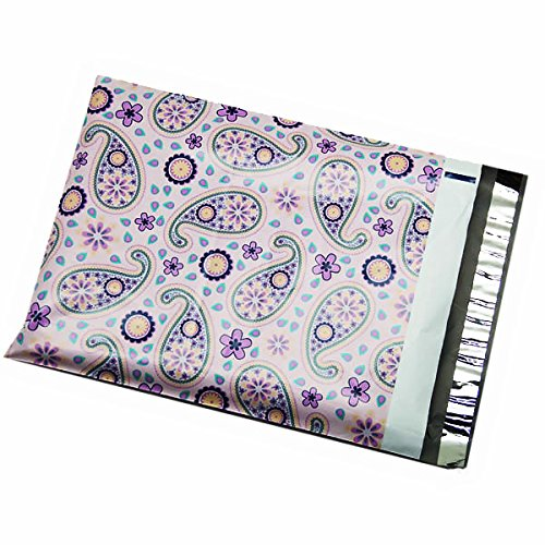Purple Paisley Poly Mailers 7432112834830
