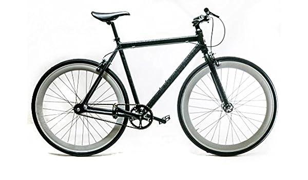 Amazon.com : EVO Slay Sm 52cm Single Speed Fixed / Freewheel 700c ...
