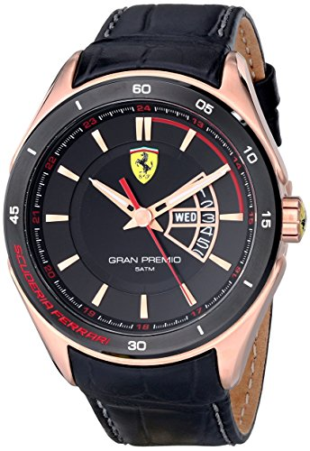 ferrari-mens-0830185-gran-premio-analog-display-quartz-black-watch
