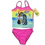 BHL Girls' 2 Pieces Zebra Sling Swimwear Bikini Set