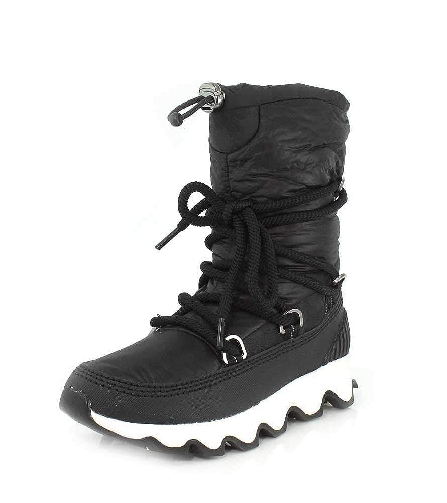 Sorel Damen Kinetic Stiefel Kurzschaft Schlupfstiefel schwarz weiß