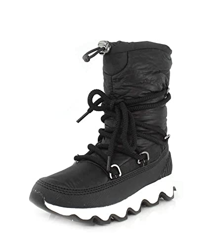 668a5deae3b5a4 Sorel Women's Kinetic Slouch Boots, Black (Camoblack, White 010), 3 (