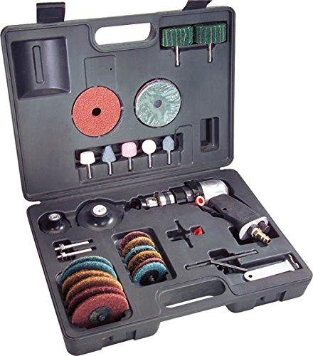 Druckluft Bohrmaschinen- und Schleif Set 33-teilig Westfalia