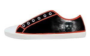 Movie Doctoc Who Men's Low Top Canvas Shoes-8M(US)