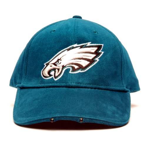 NFL Philadelphia Eagles Dual LED Headlight Adjustable Hat Brim Logo Adjustable Hat