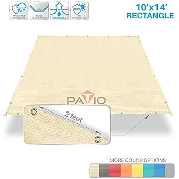 Amazon Com Patio Paradise 10 X 14 Straight Edge Sun