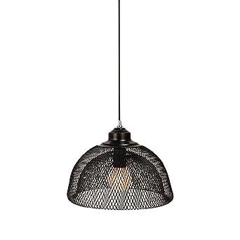 Lámpara colgante de estilo rústico vintage, de alambre de metal ...