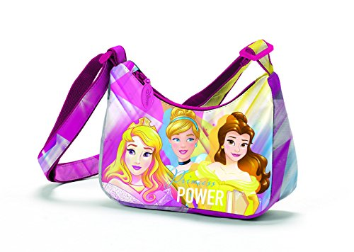 Coriex Disney Princess POWER Schultertasche Kinder-Sporttasche D96045 MC, 18 cm, Multicolor
