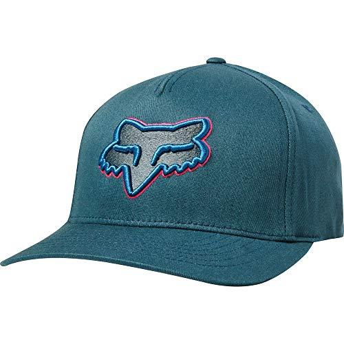 Fox Racing Epicycle Flexfit Hat-Navy/Light Blue-S/M
