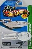 2013 Hot Wheels Hw Imagination - Star Trek - U.S.S. Enterprise NCC-1701 [Battle Damaged Version]