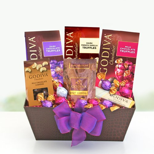 The Godiva Gourmet Valentines Chocolate Gift Basket