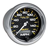 AUTO METER 4789 Carbon Fiber in-Dash Electric Speedometer, 3.375 in.