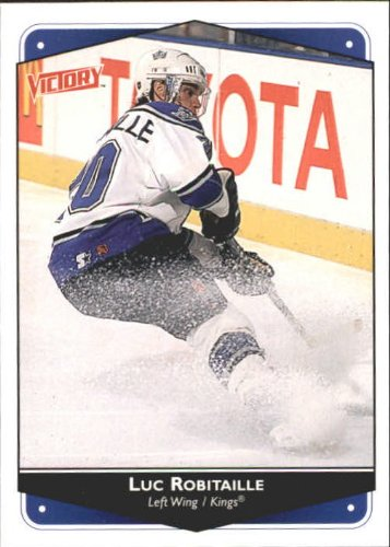Victory Hockey Cards (1999 UD Victory Hockey Card (1999-00) #134 Luc Robitaille Near)
