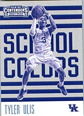 2016-17 Panini Contenders Draft Picks School Colors #13 Tyler Ulis Kentucky Wildcats Basketball Card