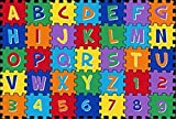 Abc Puzzle Classroom Children'S Play Rug For Kids 5 X 7 Non Skid Area Rug