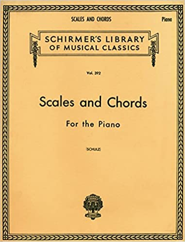 G Schirmer Scales And Chords In All The Major And Minor Keys