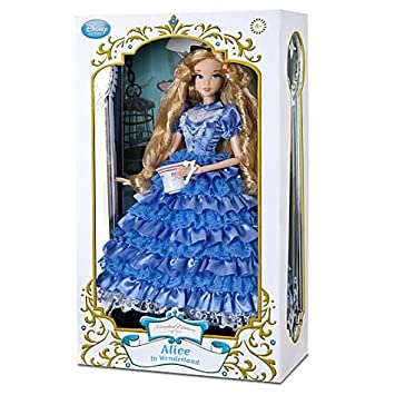 Disney Store Exclusive Limited Edition Deluxe Alice In Wonderland 17quot Doll