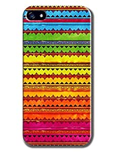 Everything Store DIY Colorful Aboriginal Pattern Phone Shell Hard Case Perfect For iphone 6 plusd 5.5 With 5.5