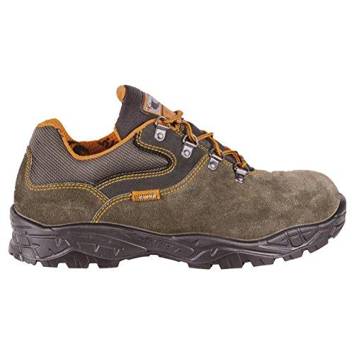 "Cofra 22210–000.w45Talla 45s1P SRC–zapatos de seguridad de ""Pass, color marrón"