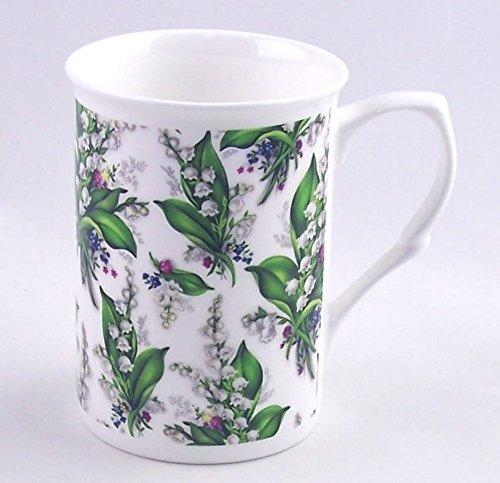 Fine English Bone China Mug - Lily Chintz - Adderley Fine China - England