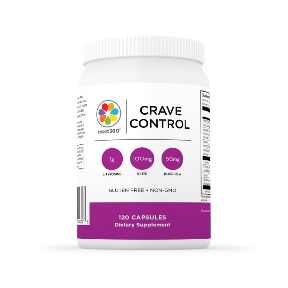 Crave Control - 120 Capsules from Dr Sara Gottfried Author of The Hormone Reset Diet by Reset360
