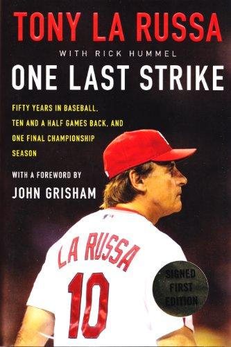 One Last Strike by Tony La Russa with Rick Hummel