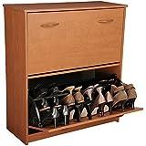 Venture Horizon Double Shoe Cabinet  Cherry