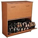 Venture Horizon Double Shoe Cabinet- Cherry