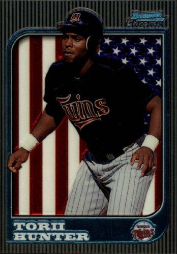1997 Bowman Chrome Baseball Card #168 Torii Hunter