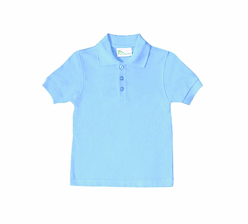 Classroom Big Boys' Youth Unisex Short Sleeve Pique Polo 58322
