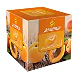 Al Fakher 250g Apricot Flavor Hookahs By S & L With Free S and L Male and Female Mouth Piece Disposable Tips