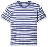 Quiksilver Men's Slide Out Tee Shirt, Bijou Originals Stripes, S
