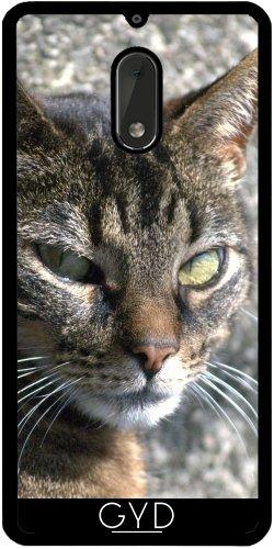 Funda de silicona para Nokia 6 - Gato by hera56