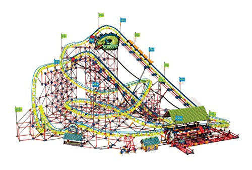 K'NEX Thrill Rides - Son of Serpent Coaster - 5,500 Pieces - Ages 16+ -  Engineering Educational Toy