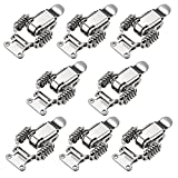 uxcell 8pcs Iron Spring Loaded Toggle Latch Catch Clamp 65mm