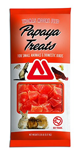 TMF Papaya Treat for Small Pets & Birds , .38 lb