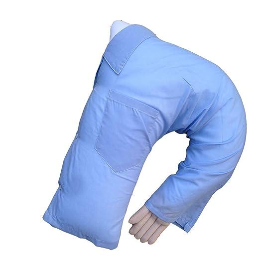 Lindo novio brazo cuerpo forma Almohadón Cojín de la cama