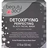Cleansing Liver Drink - Beauty 360 Detoxifying Perfecting Black Facial Mask, 1.7 OZ