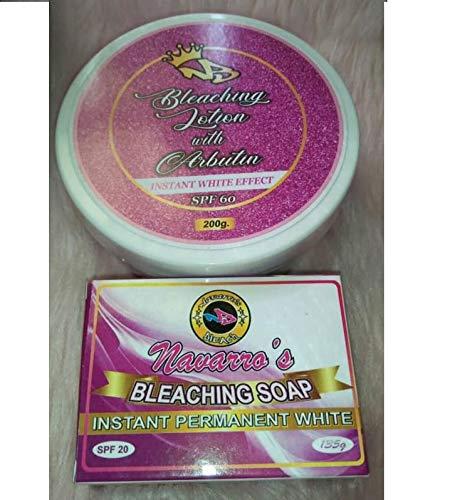 NAVARRO BLEACHING SOAP AND NAVARRO BLEACHING CREAM