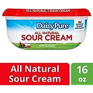 DairyPure All Natural Sour Cream 16 OZ (1LB) 453g Plastic Cup