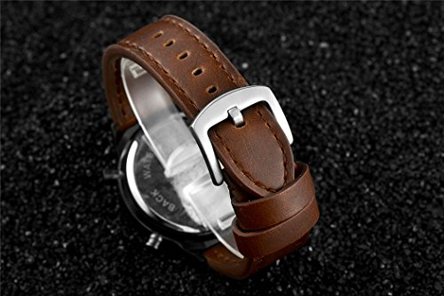 Tamlee-Fashion-Brown-Leather-Mens-Military-Watch-Waterproof-Analog-Digital-Sports-Watches-for-Men