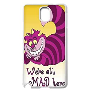 Steve-Brady Phone case Alice in Wonderland Protective Case For Samsung Galaxy NOTE3 Case Cover Pattern-19