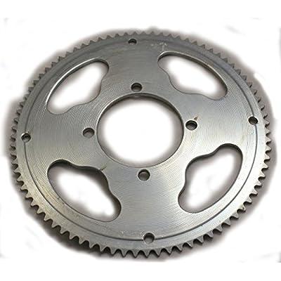 Mini Moto 25H 54mm 80Tooth Rear Sprocket For MX350 MX400 XRF500 Razor Dirt Bike : Sports & Outdoors