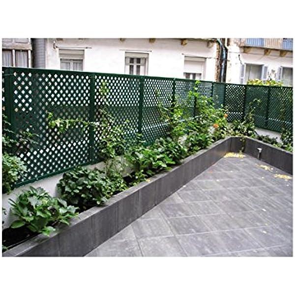 Intermas M83095 - Panel decorat espacio privat verde 100x200: Amazon.es: Bricolaje y herramientas