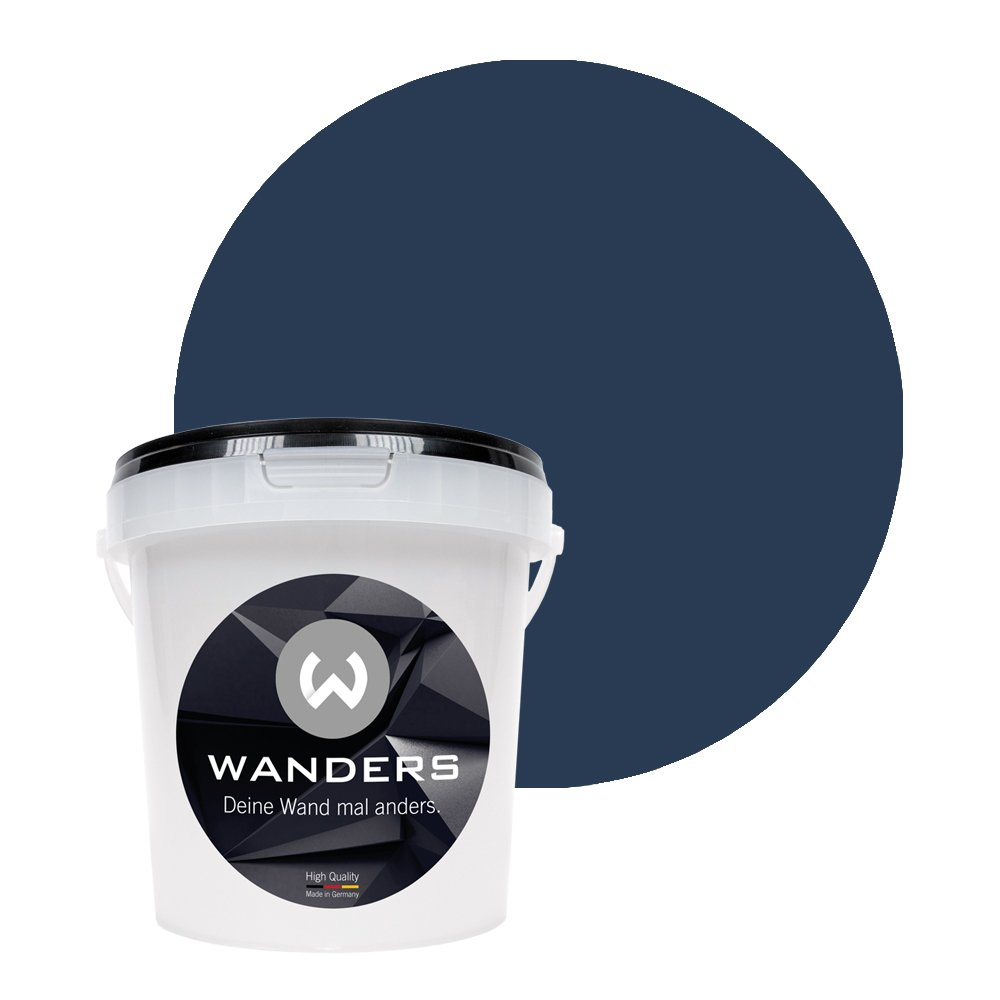 Wanders24 Peinture Tableau Noir Mat 15 Nuances 1 Litre