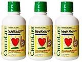 Child Life Liquid Calcium/Magnesium,Natural Orange Flavor Plastic Bottle, 16-Fl. Oz. (Pack of 3) For Sale