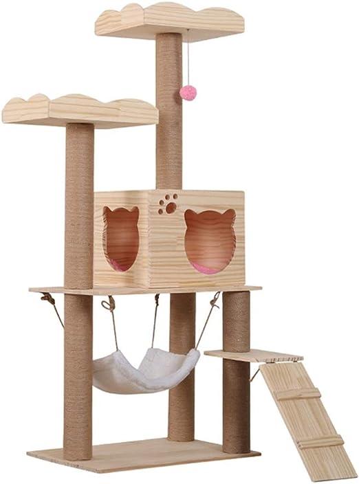 Centros de Actividades scratcher del gato Árbol trepador for gatos ...