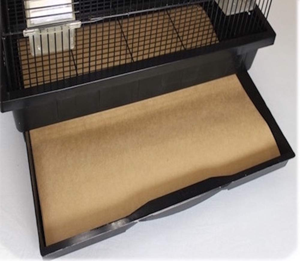 BirdCageLiners - Medium Size Cages - Pick-Your-Size - 100 Pre-Cut Sheets - 14.5 x 20 - (166 Ft. 60 Pound Paper)