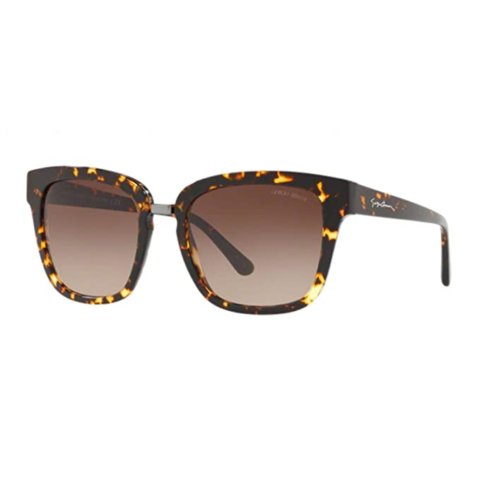 Armani 0AR8106, Gafas de Sol para Mujer, Havana Brown, 54 ...